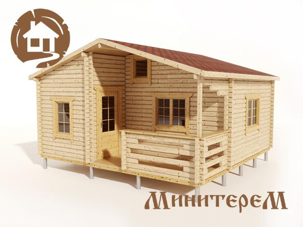 Дачный дом 45м2, вид1
