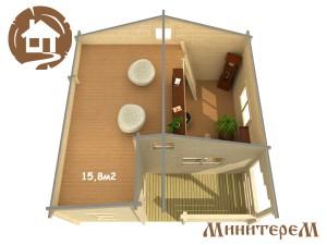 Дачный домик план 2 copy