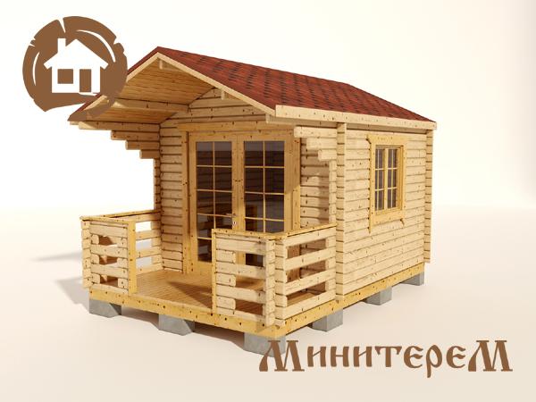 Садовый домик вид1